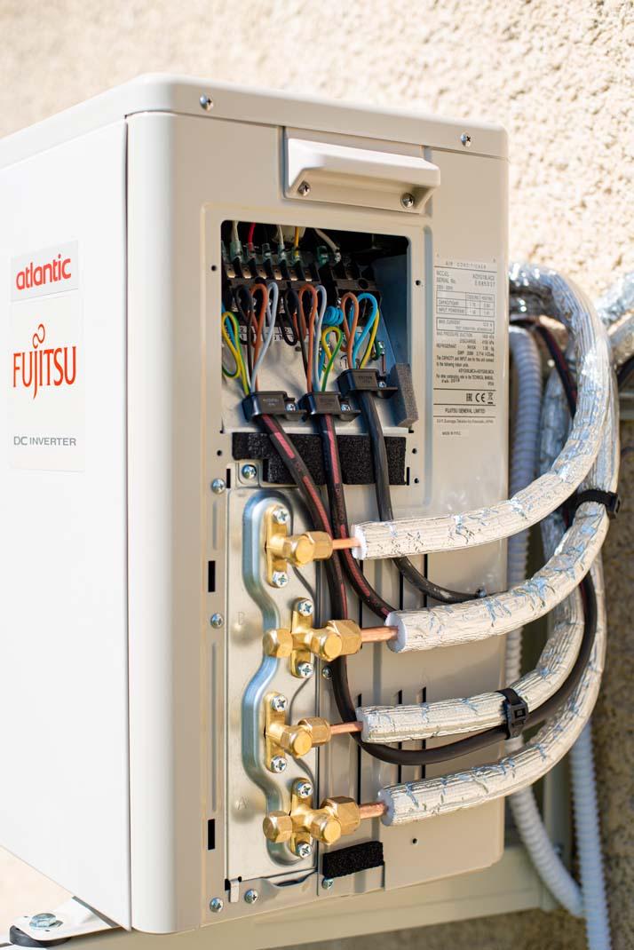 Fourniture et installation de climatisation réversible