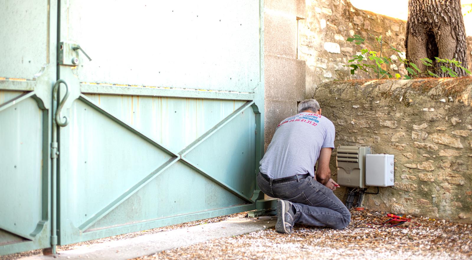 Installation d'automatisme sur le Gard