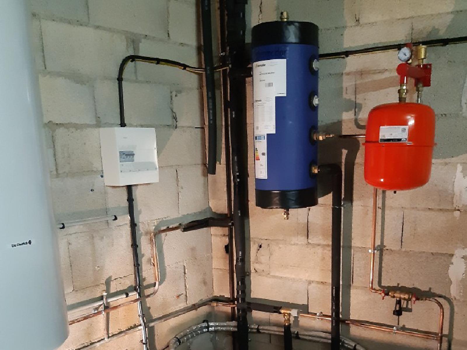 Mise en place d'un système de chauffage sur radiateur avec une pompe à chaleur haute température