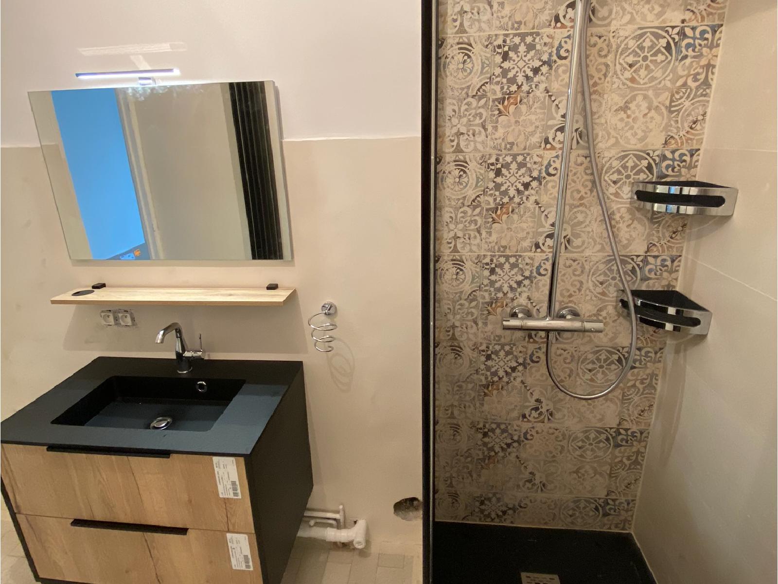 réalisation travaux électrique sur salle de bain